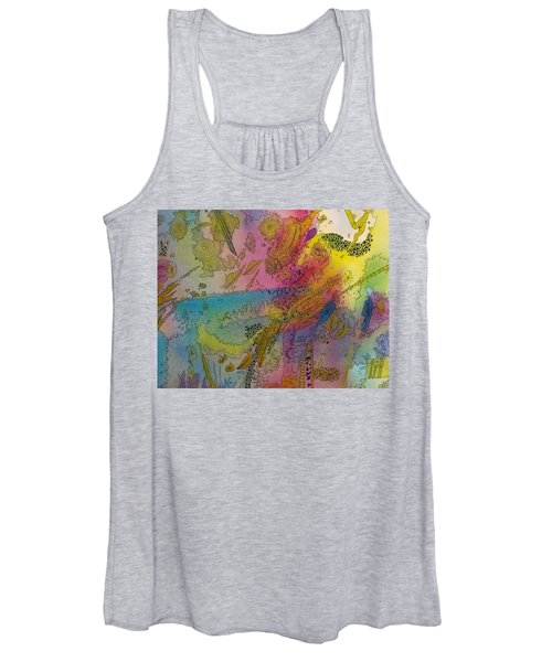 Doodle With Color Women's Tank Top