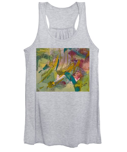 Doodles With Abstraction Women's Tank Top