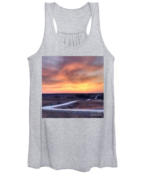 Down To The Rolling Hills Women's Tank Top