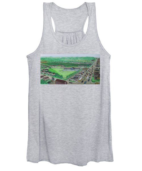 Dreamland Swimming Pool In Portsmouth Ohio 1950s Women's Tank Top