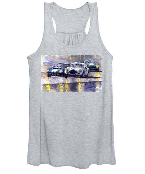 Duel Ac Cobra And Shelby Daytona Coupe 1965 Women's Tank Top