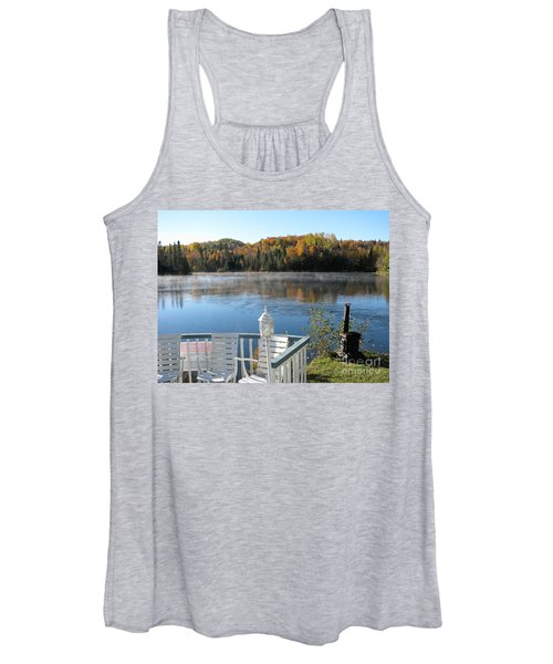 Early Autumn Morning Women's Tank Top