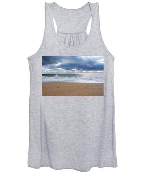 Earth's Layers - Jersey Shore Women's Tank Top