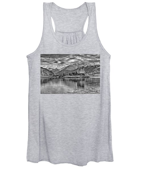 Eilean Donan - A Reflection Without Colour Women's Tank Top