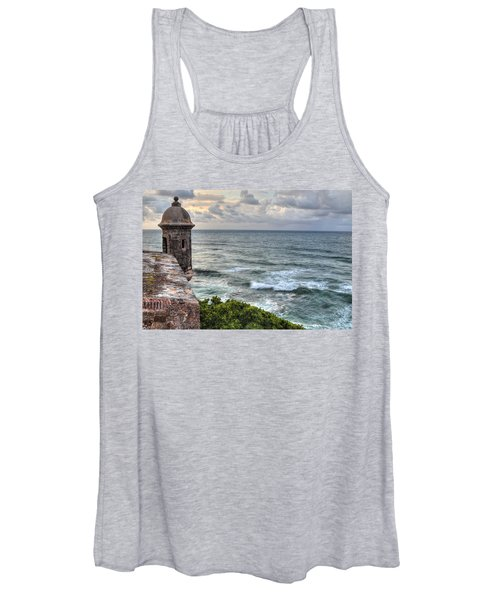 El Morro Sunset Women's Tank Top