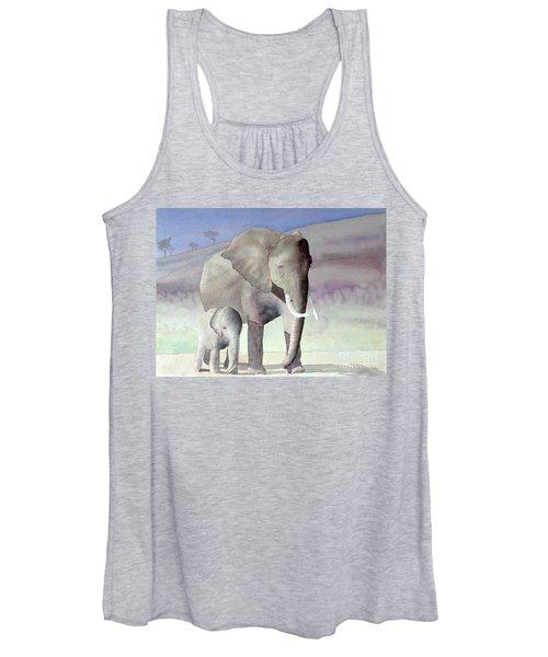 Elephant Family Women's Tank Top