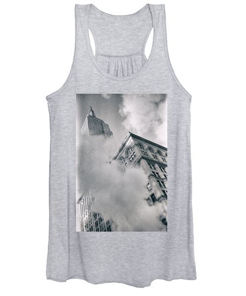 Empire State Building And Steam Women's Tank Top