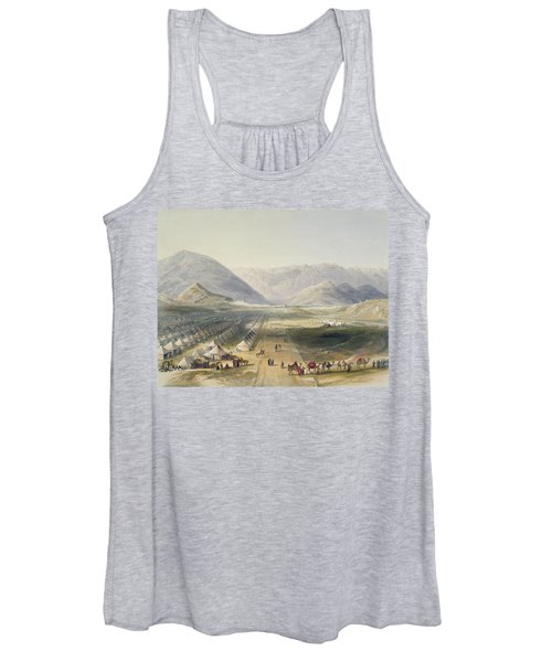 Encampment Of The Kandahar Army Women's Tank Top