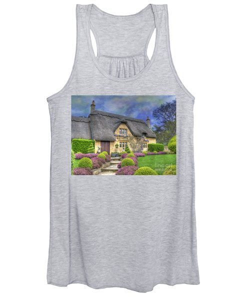 English Country Cottage Women's Tank Top