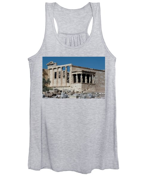 Erechtheion With The Porch Of Maidens Women's Tank Top