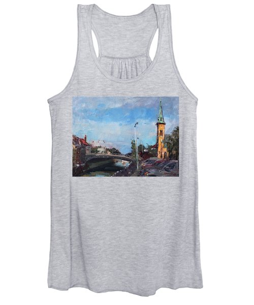 Erie Canal In Lockport Women's Tank Top