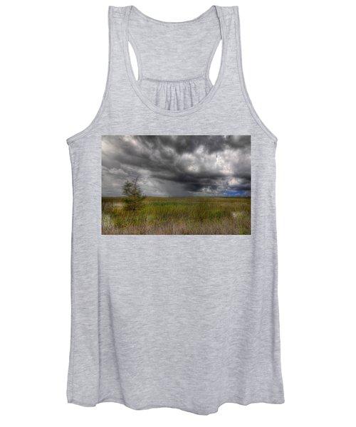 Everglades Storm Women's Tank Top