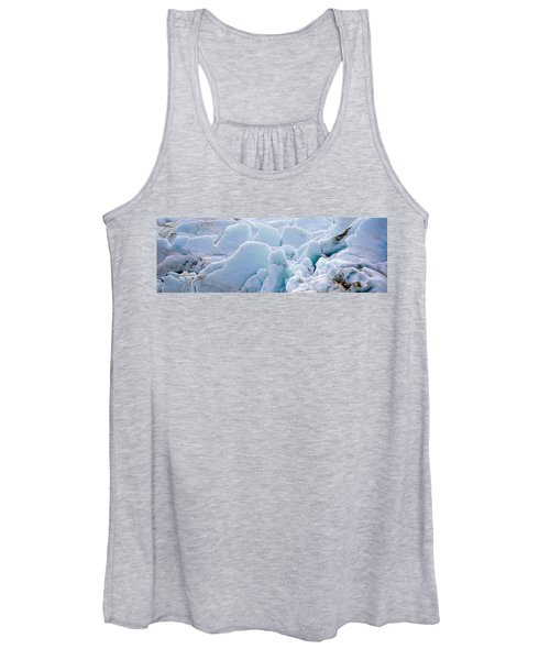 Exit Glacier At Harding Ice Field Women's Tank Top