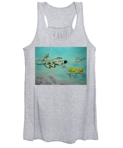Extreme Airline Mergers Women's Tank Top