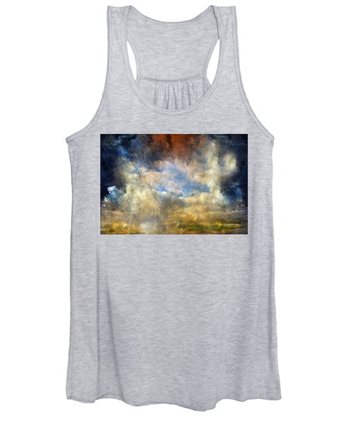 Eye Of The Storm  - Abstract Realism Women's Tank Top