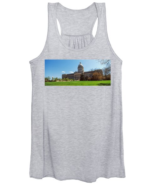 Facade Of State Capitol Building Women's Tank Top