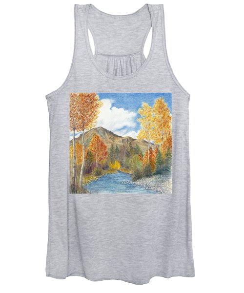 Fall Aspens Women's Tank Top