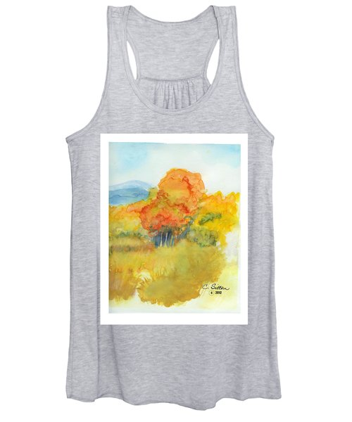 Fall Trees 2 Women's Tank Top