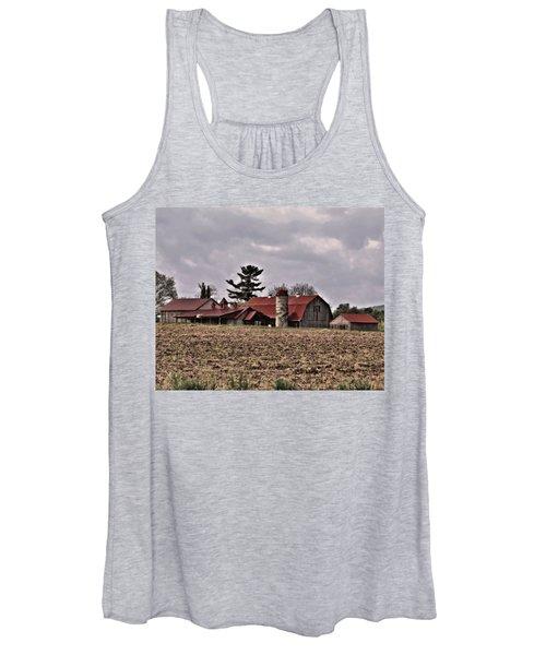 Women's Tank Top featuring the photograph Farm 2 by John Feiser
