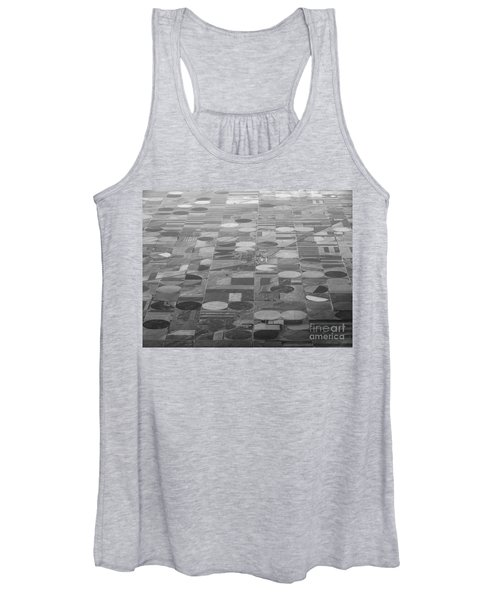 Farming In The Sky Women's Tank Top