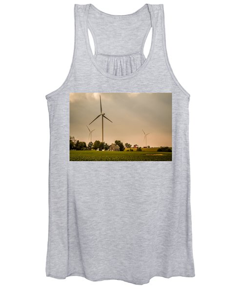 Farms And Windmills Women's Tank Top