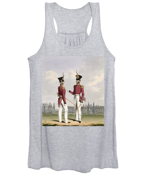 Field Officers Of The Royal Marines Women's Tank Top