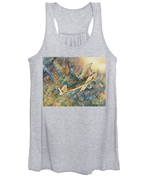 First Over The Front Women's Tank Top