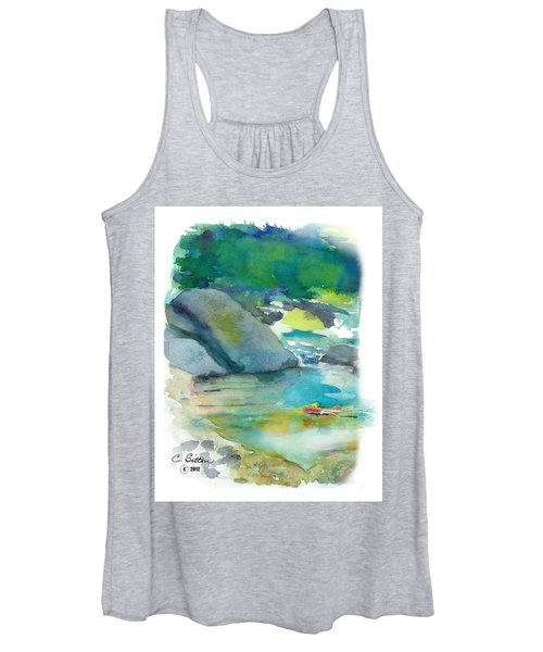 Fishin' Hole Women's Tank Top