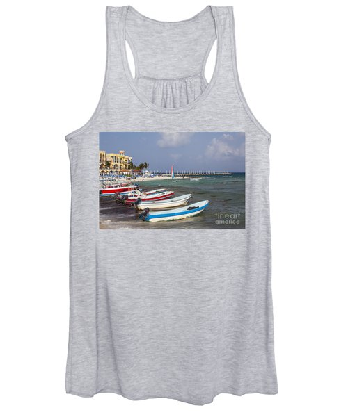 Fishing Boats Women's Tank Top