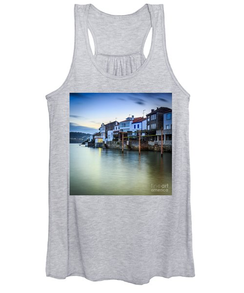 Fishing Town Of Redes Galicia Spain Women's Tank Top