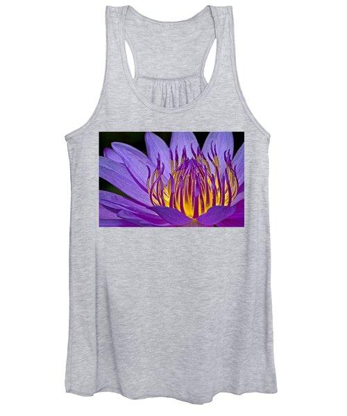 Flaming Heart Women's Tank Top
