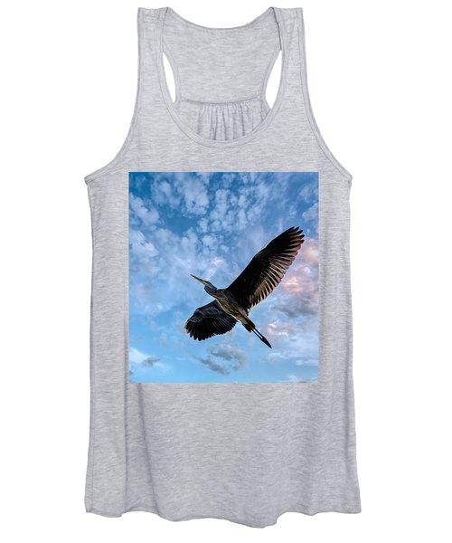 Flight Of The Heron Women's Tank Top
