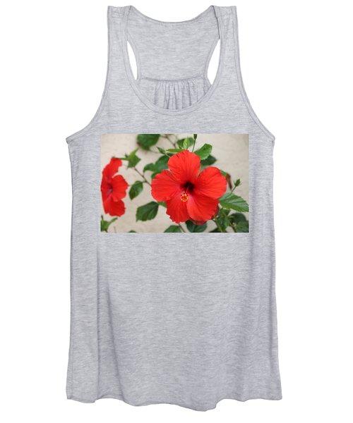 Floral Beauty  Women's Tank Top