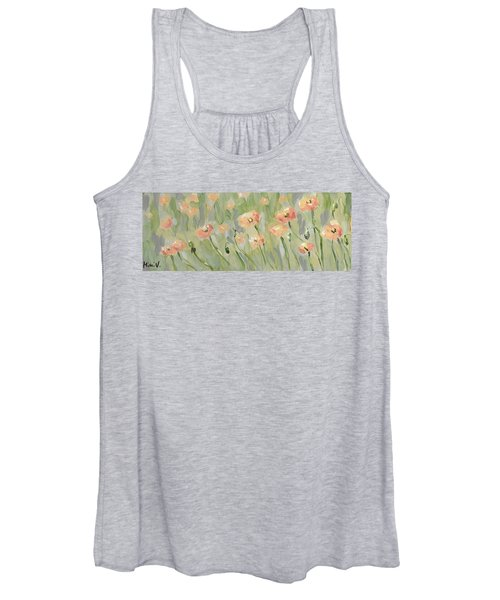 California Poppies Women's Tank Top