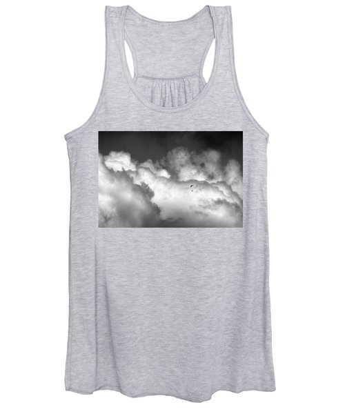 Flying Through The Clouds Women's Tank Top