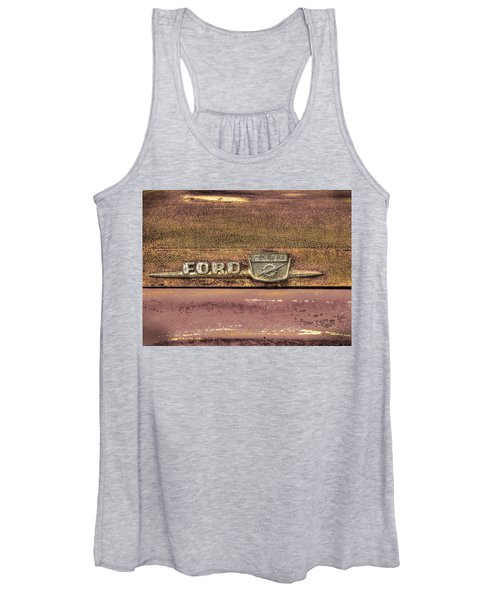Ford F-100 Women's Tank Top
