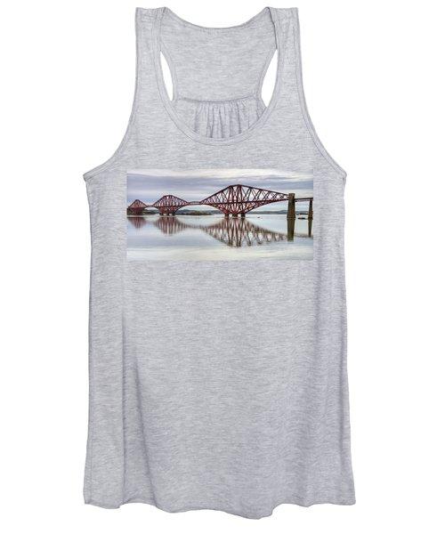 Forth Bridge Reflections Women's Tank Top