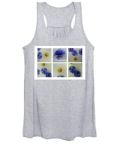 Frozen Blue Women's Tank Top