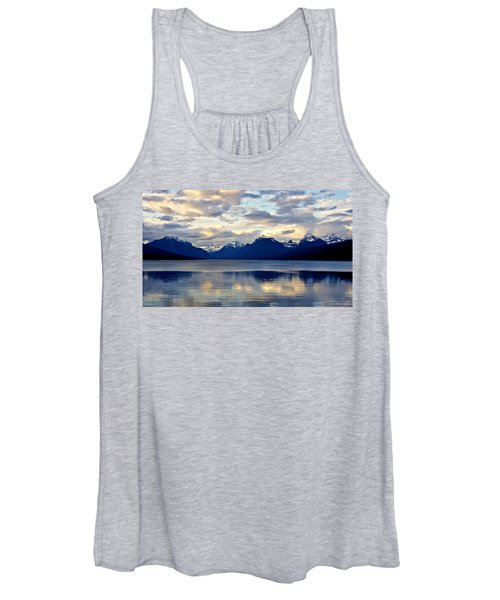 Glacier Morning Women's Tank Top