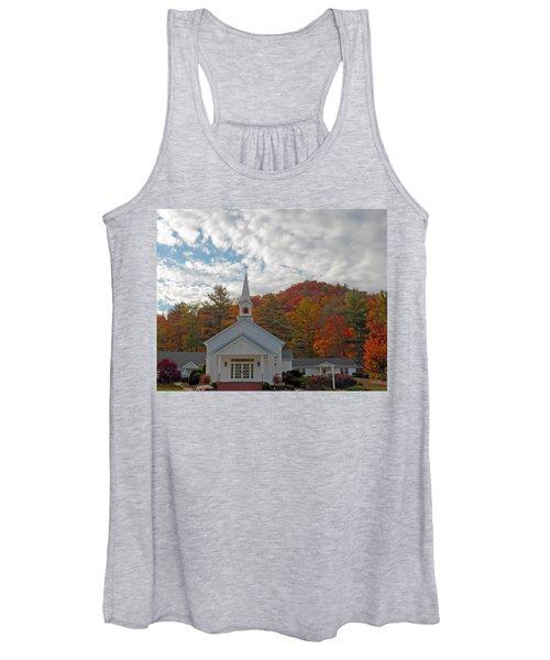 Glenville In Autumn  Women's Tank Top