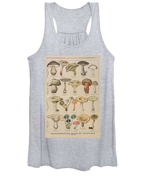 Good And Bad Mushrooms Women's Tank Top