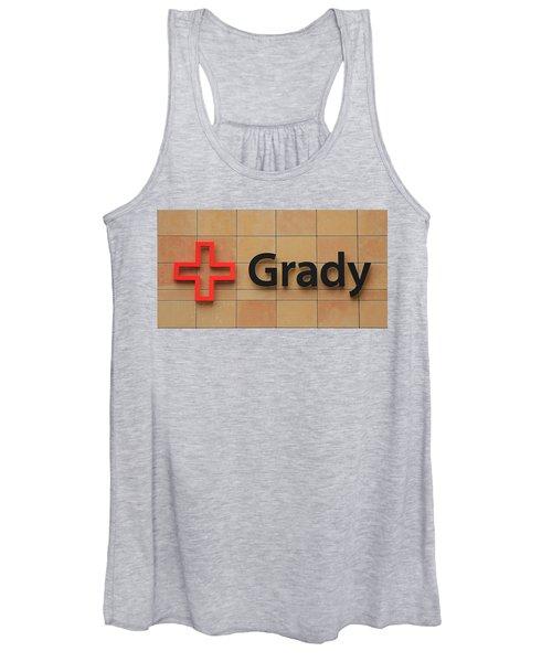 Grady Hospital Atlanta Georgia Art Women's Tank Top