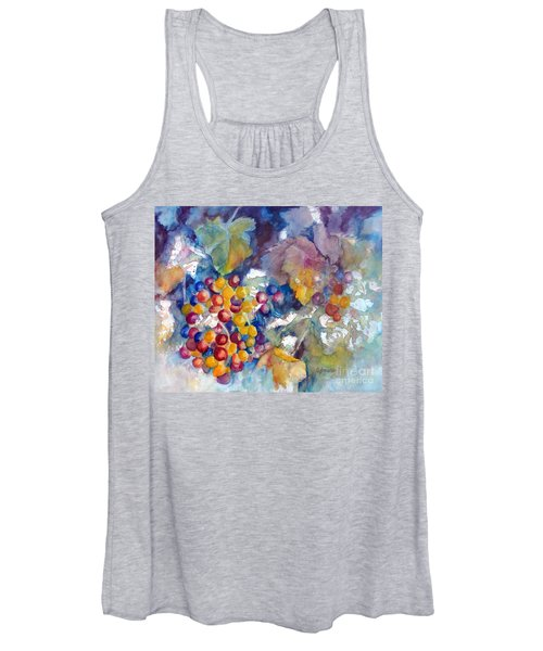 Grapes On The Vine Women's Tank Top