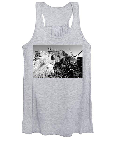 Great Wall Ruins Women's Tank Top
