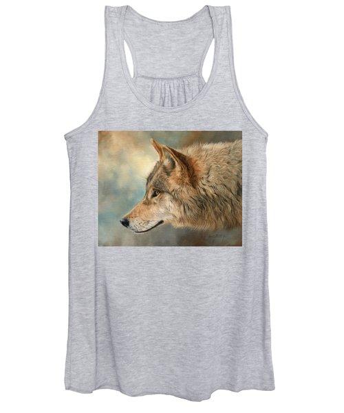 Grey Wolf 3 Women's Tank Top