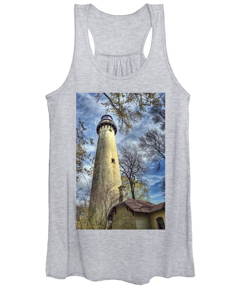 Grosse Point Lighthouse Color Women's Tank Top