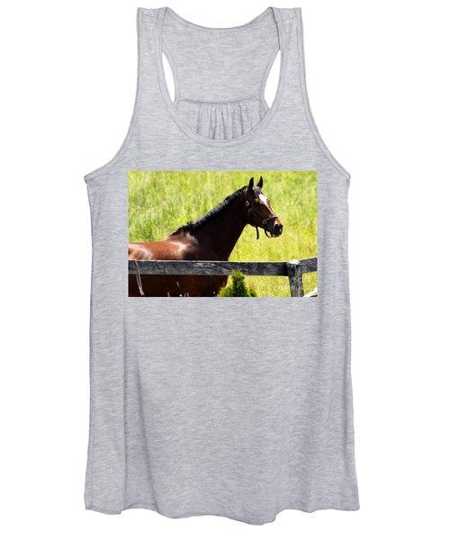 Handsom Horse Women's Tank Top