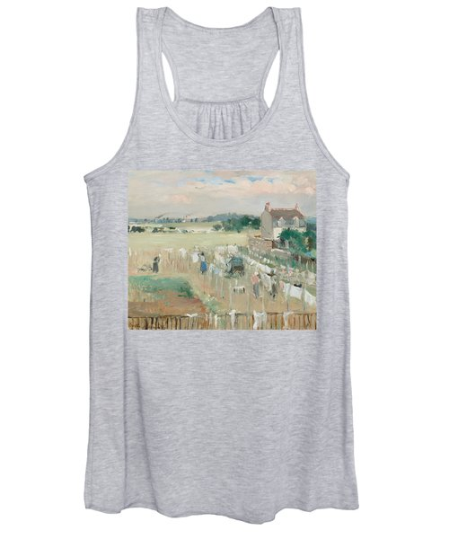 Hanging The Laundry Out To Dry Women's Tank Top