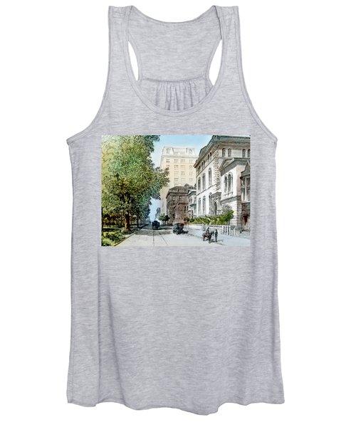 Harrison Residence East Rittenhouse Square Philadelphia C 1890 Women's Tank Top