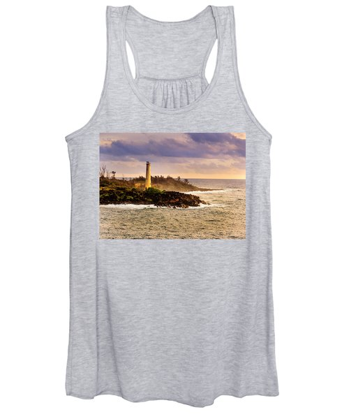 Hawaiian Lighthouse Women's Tank Top